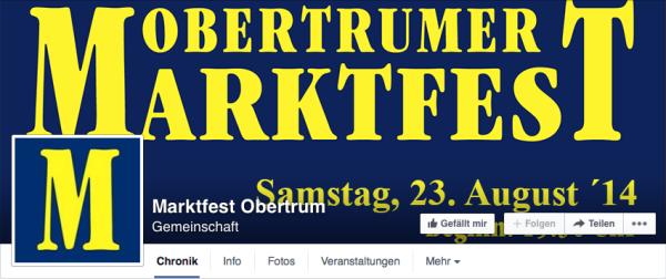 marktfest obertrum